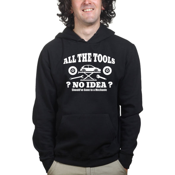 All The Tools No Idea Car Racing Hoodie, [product_type) - Fretshirt.com