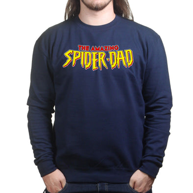 The Amazing Spider Dad  Sweatshirt - Fretshirt.com
