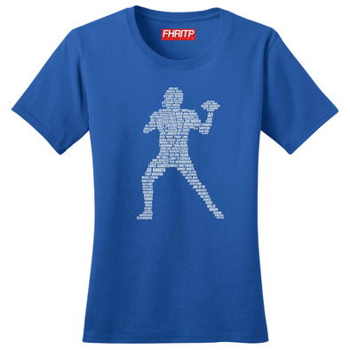 American Football Player Legends Women's T-Shirt