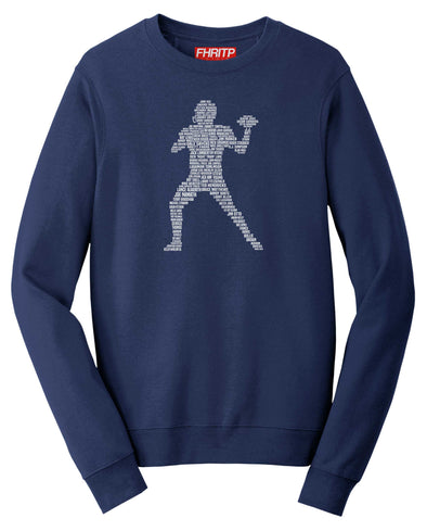American Football Player Legends Sweatshirt
