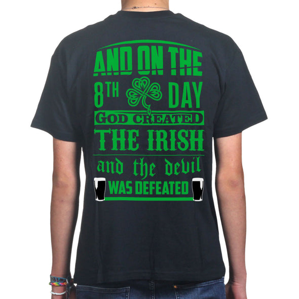 And On The 8th Day God Created The Irish T-Shirt, [product_type) - Fretshirt.com