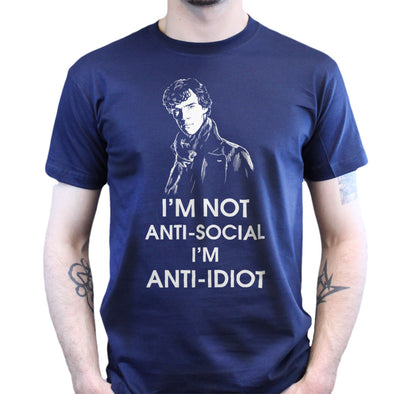 I'm Not Anti-Social I'm Anti-Idiot Kid's T-Shirt