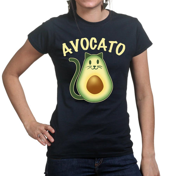 Avocado AvoCato Women's T-Shirt, [product_type) - Fretshirt.com