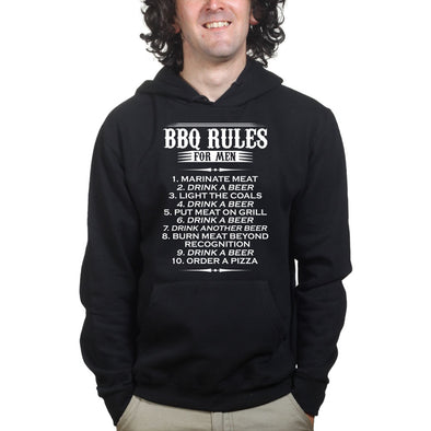 BBQ Rules For Men Hoodie