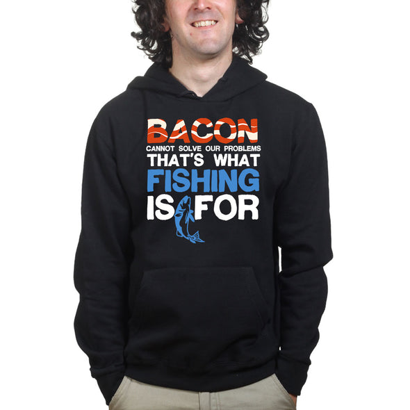 Bacon & Fishing Hoodie, [product_type) - Fretshirt.com