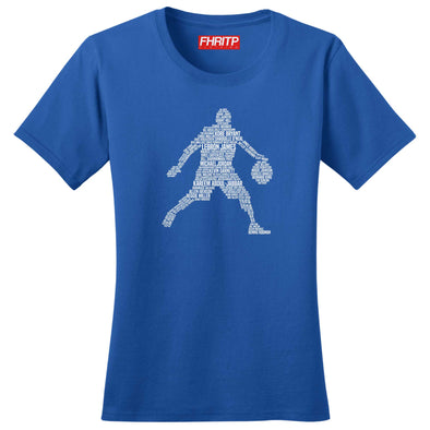 Basketball Player Legends Women's T-Shirt