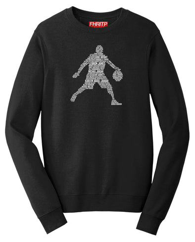 Basketball Player Legends Sweatshirt