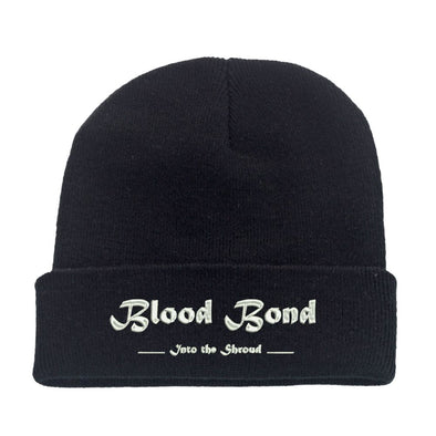 Blood Bond Logo Embroidered Beanie Hat, [product_type) - Fretshirt.com