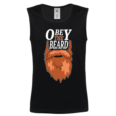 Beardageddon - Obey The Beard Tank Top