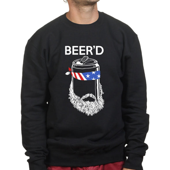 Beer'd Beard Beer Sweatshirt