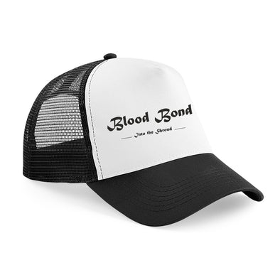 Blood Bond - Into the Shroud Logo Trucker Cap, [product_type) - Fretshirt.com
