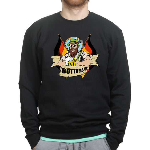 Bottoms Up Sweatshirt, [product_type) - Fretshirt.com