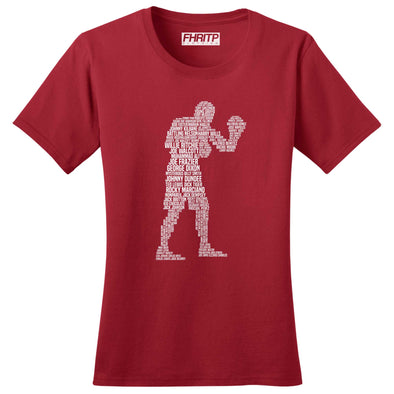 Boxing Legends Women's T-Shirt