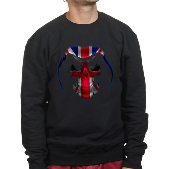 British Union Flag Reaper Sweatshirt - Fretshirt.com