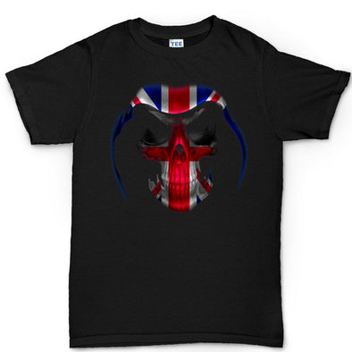 British Union Flag Reaper Kid's T-Shirt - Fretshirt.com