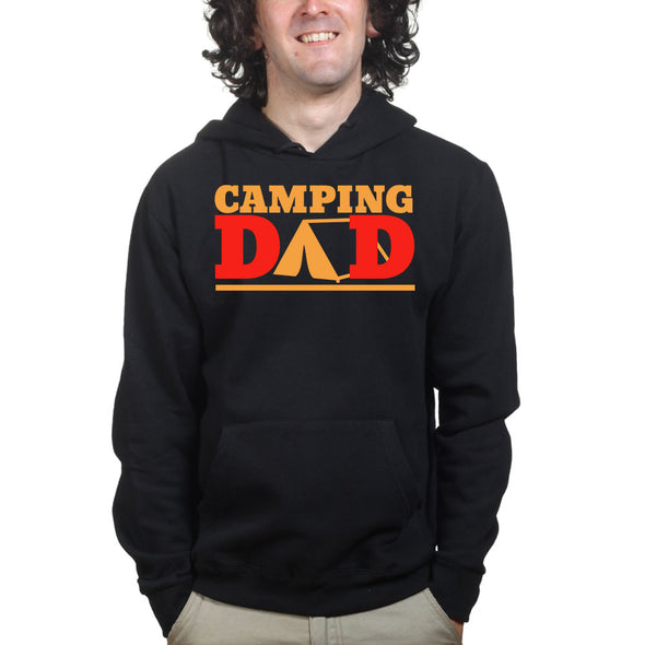 Camping Dad Hoodie, [product_type) - Fretshirt.com