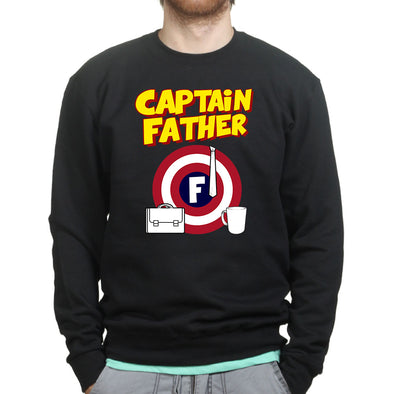 Captain Father Sweatshirt - Fretshirt.com