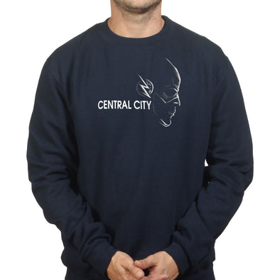 Central City Super Hero Sweatshirt - Fretshirt.com