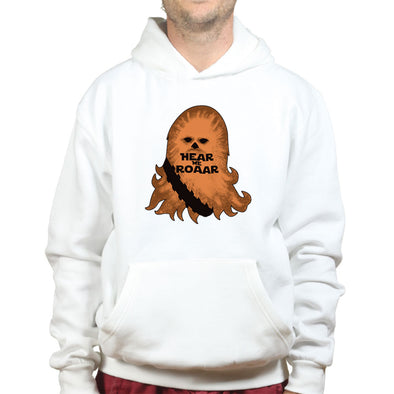 Hear the Roar Chewie Hoodie - Fretshirt.com