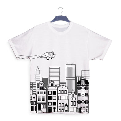 City Outline T-Shirt, [product_type) - Fretshirt.com