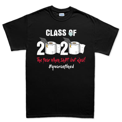 Mens Class of 2020 Quarantine T-shirt