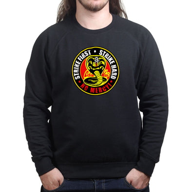 Cobra Kai No Mercy Martial Arts Karate Sweatshirt, [product_type) - Fretshirt.com