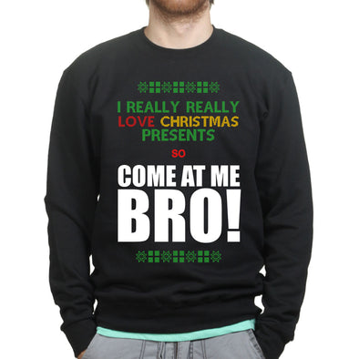 Come At Me Santa Sweatshirt