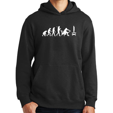 Evolution of Gamer Games Console Gaming Hoodie