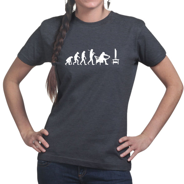 Evolution of Gamer Games Console Gaming Women's T-Shirt