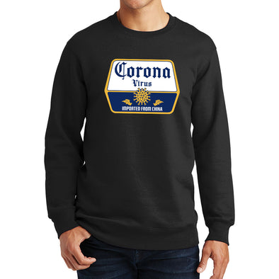 Corona Virus Beer Sweatshirt