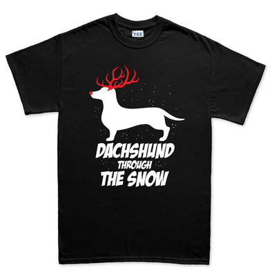 Dachshund Through The Snow Kid's T-Shirt