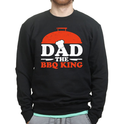 Dad BBQ King Sweatshirt - Fretshirt.com