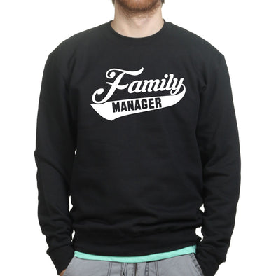 Dad Family Manager Sweatshirt - Fretshirt.com