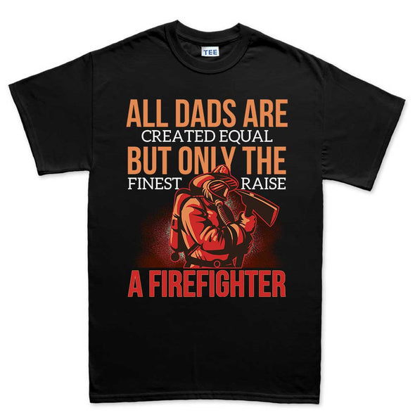Fire Fighter Dad T-Shirt, [product_type) - Fretshirt.com