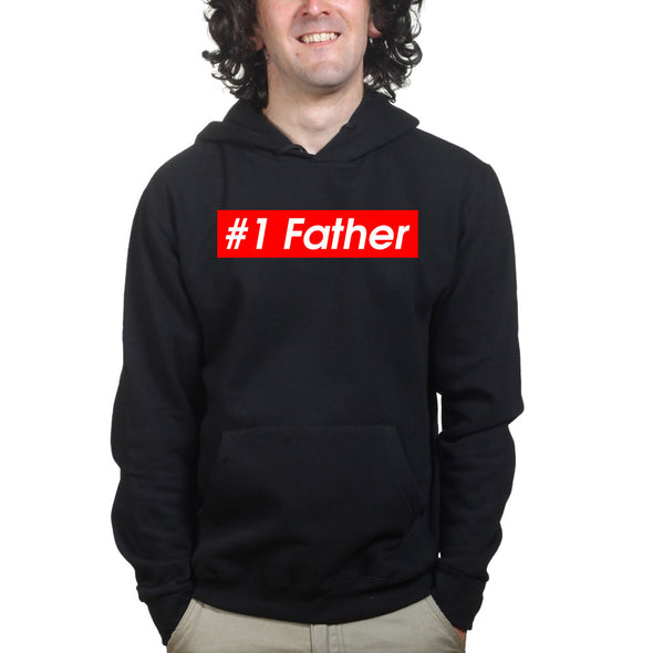 No. 1 Father Hoodie, [product_type) - Fretshirt.com