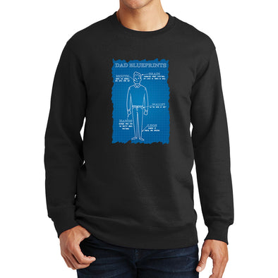 Dad Blueprints Sweatshirt