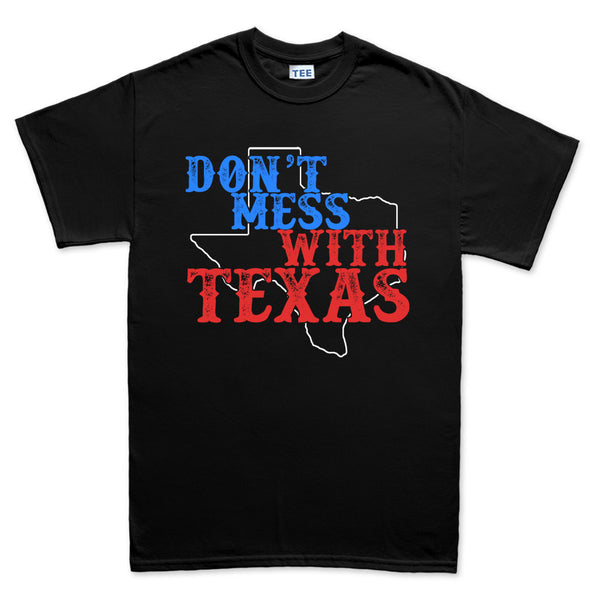 Don't Mess With Texas Lone Star State T-Shirt - Fretshirt.com