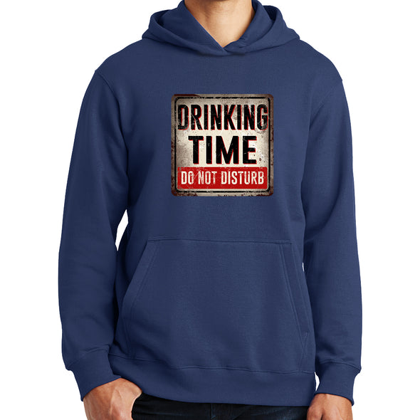 Drinking Time Do Not Disturb Hoodie