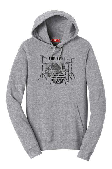 Drummer Legends Drum Kit Hoodie