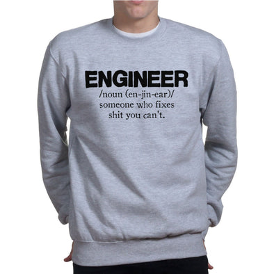 Engineer Who Fixes Sweatshirt