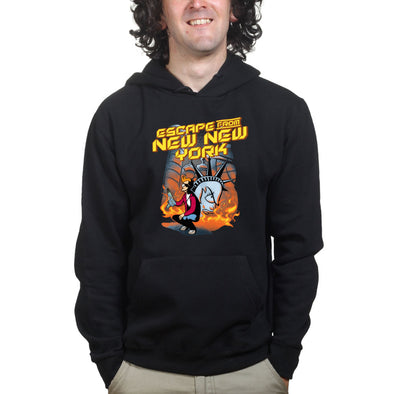 Escape From New York Futurama Hoodie - Fretshirt.com