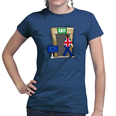 Britain Exits Europe Brexit Women's T-Shirt
