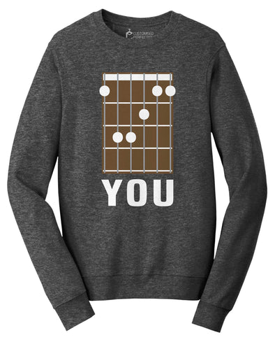 F You Chord Sweatshirt