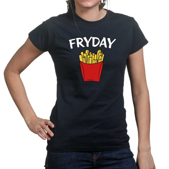 Friday Fry Day Women's T-Shirt, [product_type) - Fretshirt.com