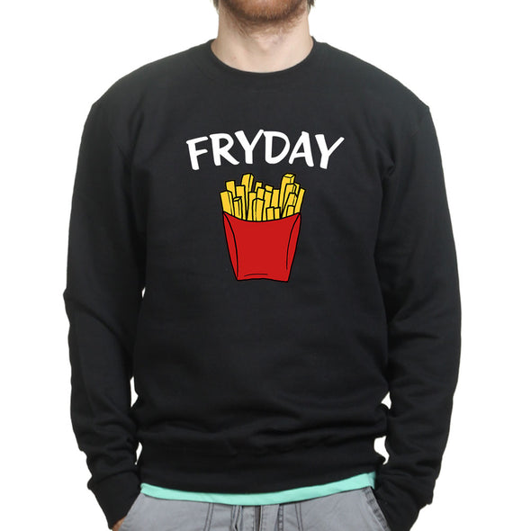 Friday Fry Day Sweatshirt, [product_type) - Fretshirt.com