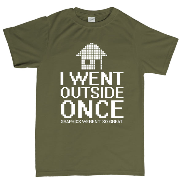 Outside Graphics Not So Great T-Shirt - Fretshirt.com