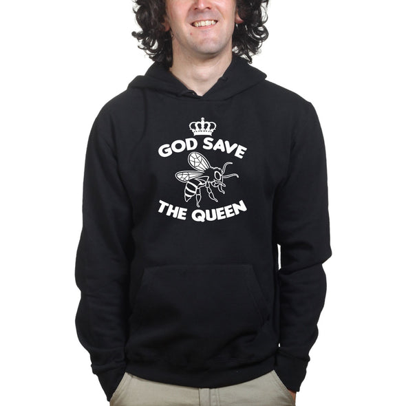 God Save The Queen Hoodie - Fretshirt.com