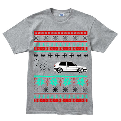 GTi MK2 16v Christmas Xmas Ugly Sweater Kid's T-Shirt