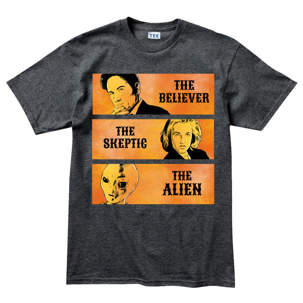 Good Bad Ugly X Files T-Shirt - Fretshirt.com