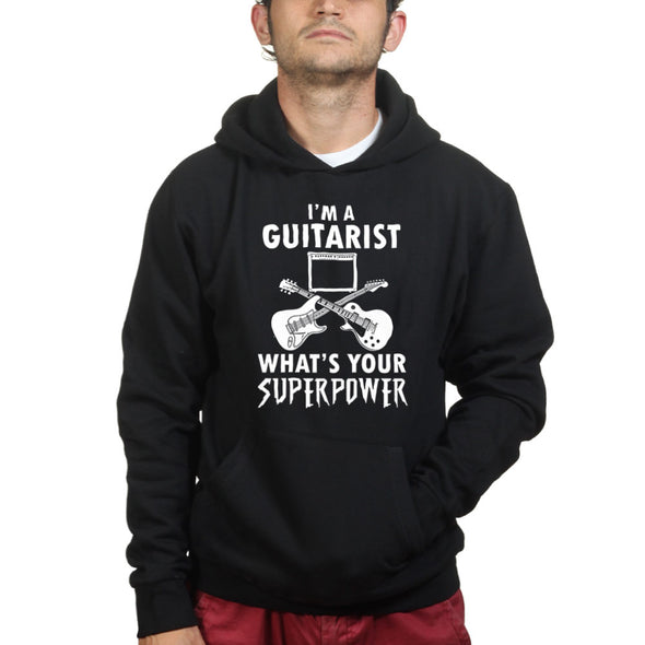 Guitarist Super Powers Hoodie, [product_type) - Fretshirt.com